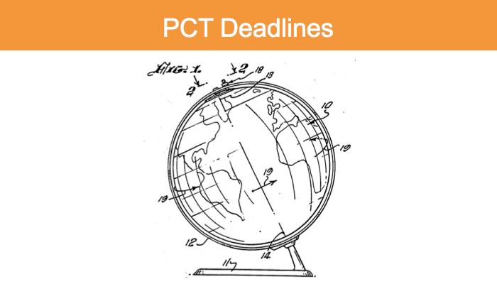 PCT deadlines