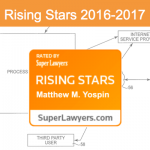 I'm honored to announce that I've been selected to the Massachusetts Rising Stars list for 2016-2017.