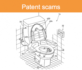 Patent scams